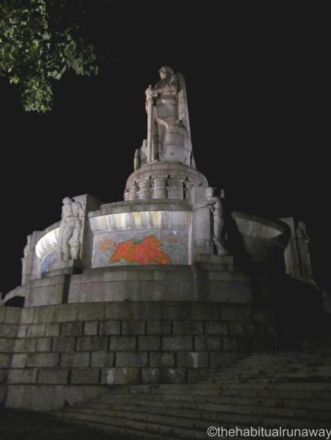 Defaced Monument, Hamburg