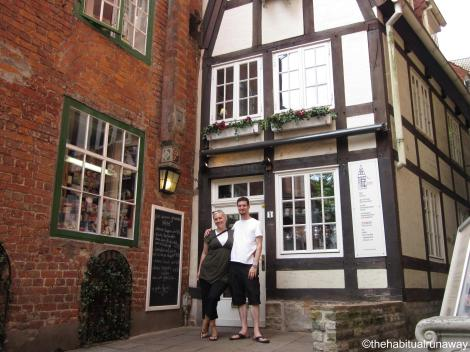 Ana and Dave, Bremen Germany