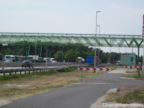 Once the German/Dutch border