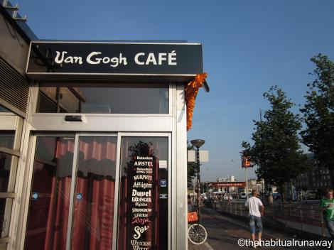 Park under the Van Gogh Cafe!