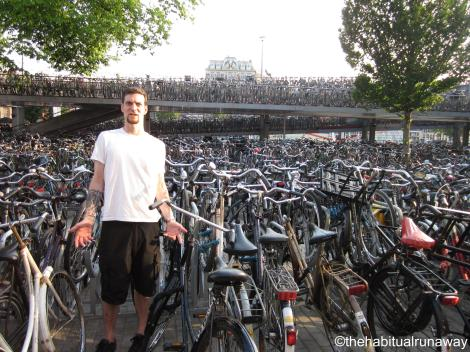 Too Many Bikes, Amsterdam Holland