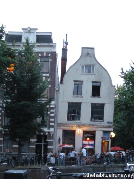 Famous for its 'Double Lean', Amsterdam