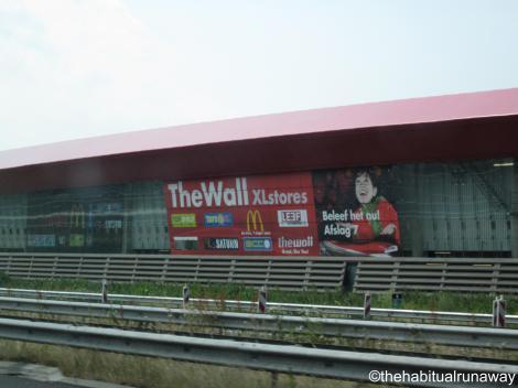 Mc D's Wall