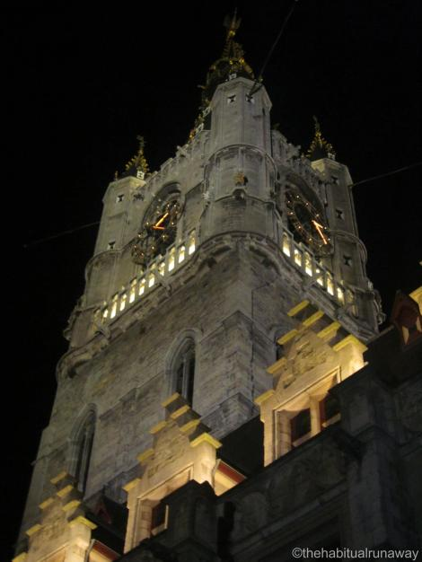 Looking up The Belfry