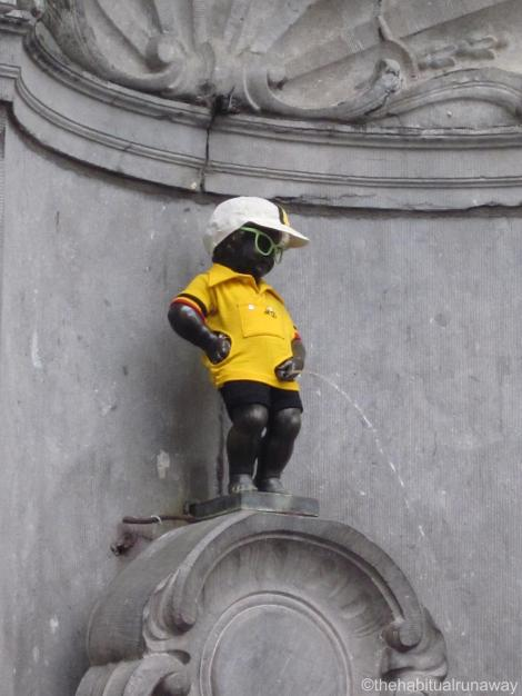 Mannekin Pis Footie Fan