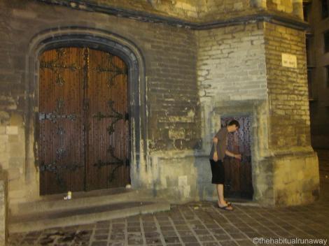 Small Medieval Door
