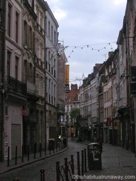 Streets in Lille