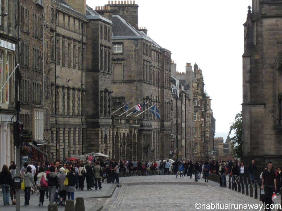Walking the Royal Mile