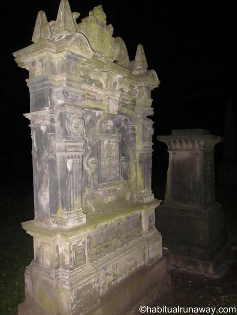 Headstones in the Kirk
