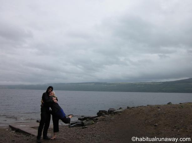 2 Drunks at the Loch