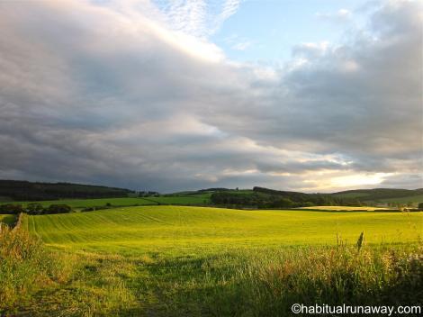 Across Aberdeenshire