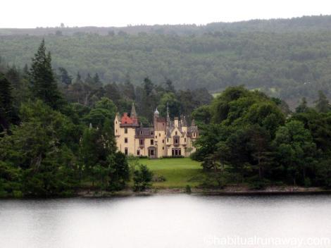 Aldourie Castle on the Loch Ness