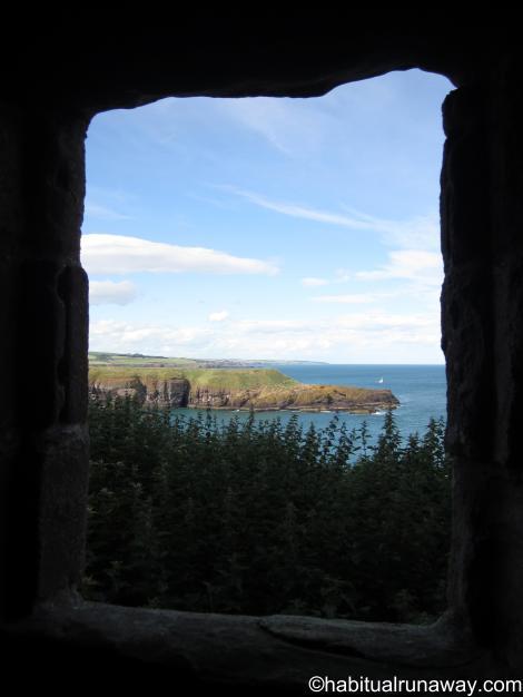 Cliffs Through the Window