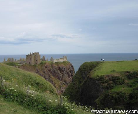 Dunnottar on the Cliff