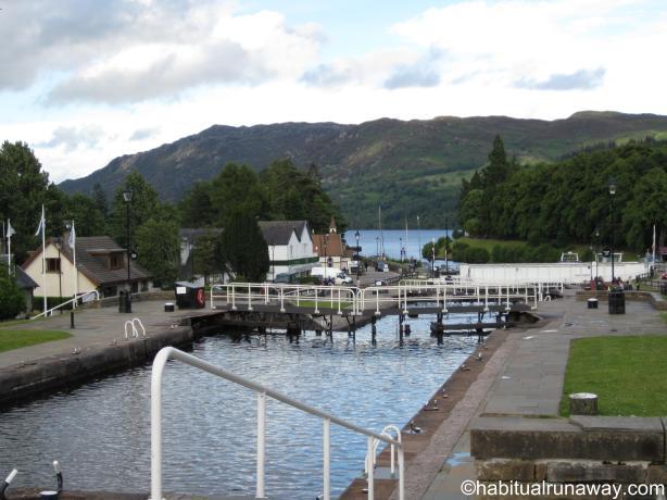 Fort Augustus Loch to the Loch