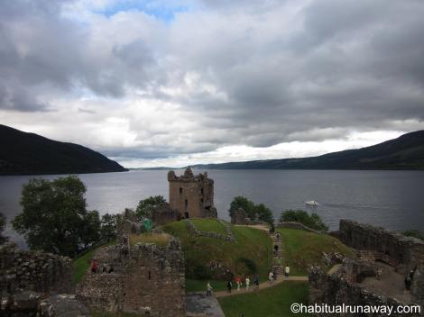 Tower Overlooking Loch
