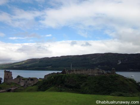 Urquhart Over Loch Ness