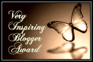 Very Inspiring Blogger Award 2