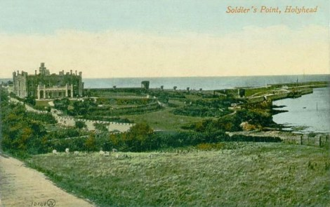 Anglesey, Holyhead  Soldiers Point 1900's