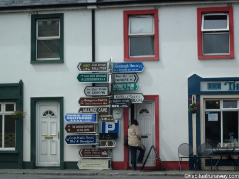 Signs in Ballyvaghan