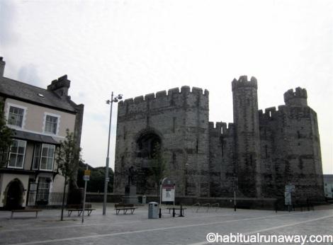 View of Caernarfon Castle