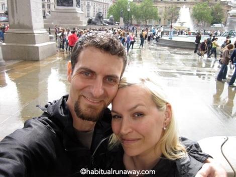 In Trafalgar Square