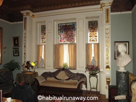 Ornate Castle Windows