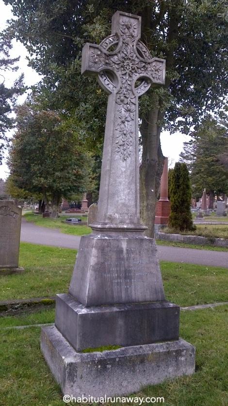 Ornate Stone Cross