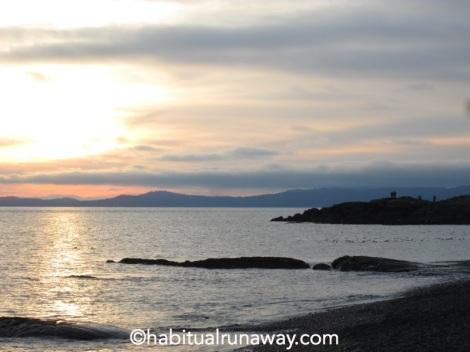 Sunset Beacon Hill Beach