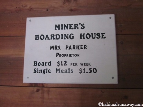 Miners Boarding House