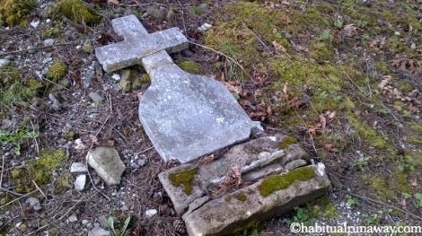 Broken Headstone