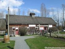 Entering the Historic Farm