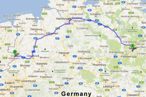 Germany Route