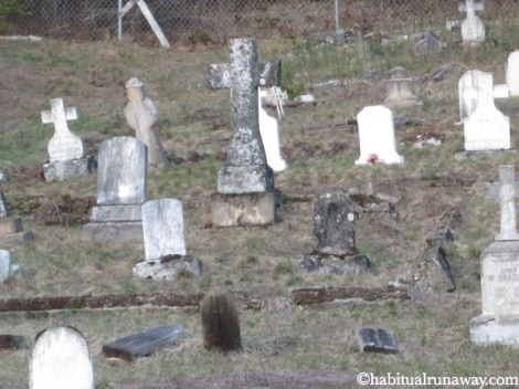 Wooden Headstones