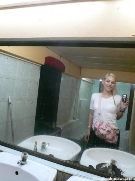 Birthday Bathroom Selfie