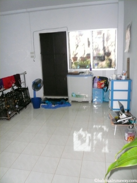 Flooded Upstairs