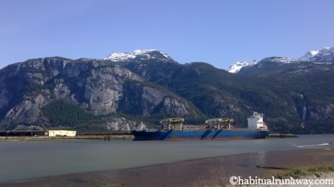 Old BC Ferries Squamish