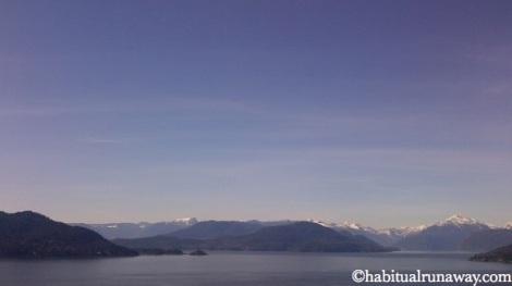 Overlooking Howe Sound