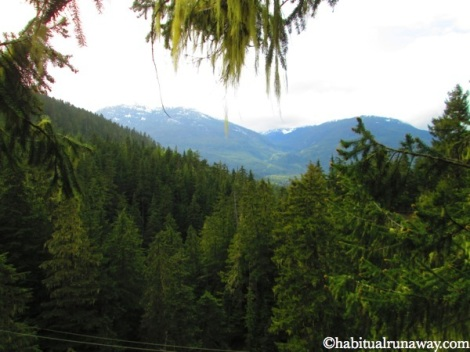 Zipping Through the Mountains