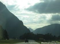 Admiring Mountains Hwy 1
