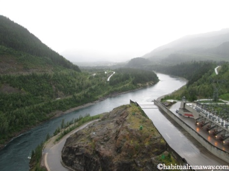 Atop The Revelstoke Dam