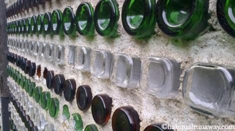 Bottle House Detail