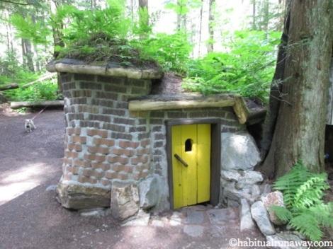 Brick House Yellow Door