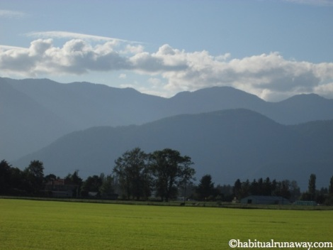 Fraser Valley Mountian View