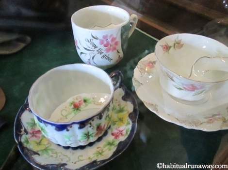 Moustache Tea Cups
