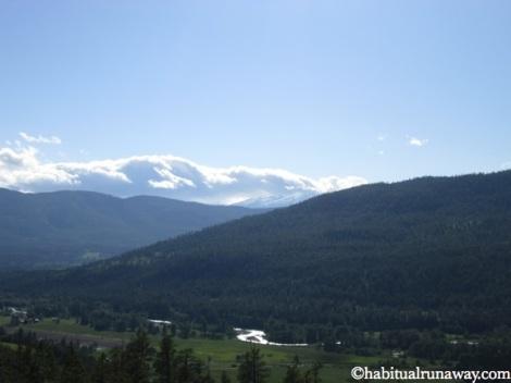 Overlooking Mountain Farms