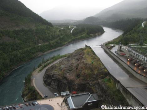 View From Revelstoke Dam