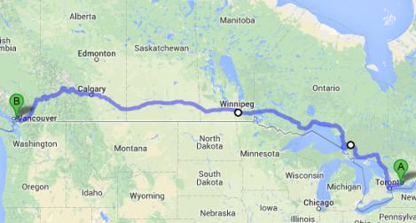 Crossing Canada