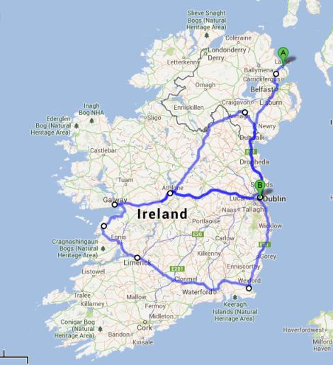 Ireland Route