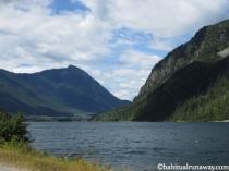 Overlooking Slocan Lake
